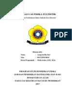 Tugas Uas Fisika Statistik