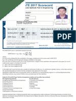 GATE-2017 Score Card.pdf