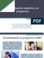 Encefalopatía Espástica No Progresiva