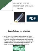 Cap II Propiedades Fisicas Morfologicas de Los Cristales