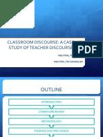 2015 Classroom Discourse