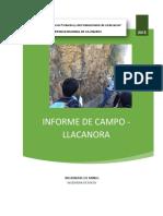 Informe de Llacanoraa