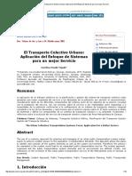 Fermentum - El Transporte Colectivo Urbano_ Aplicación Del Enfoque de Sistemas Para Un Mejor Servicio