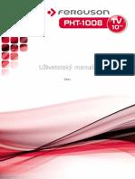 PHT-1008 Manual CZ v3