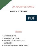 Programa Arquitectonico