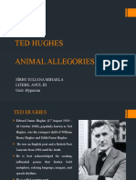 TED HUGHES - Animal Allegories