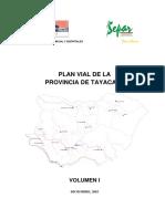 Plan Vial Tayacaja