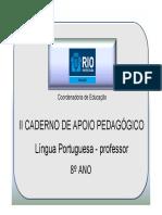 8AnoLPProf2Caderno