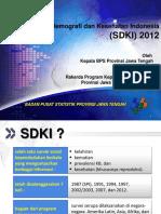 Hasil Sementara SDKI 2012