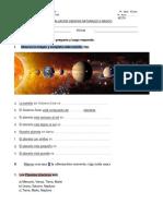 Ev. Ciencias Sistema Solar