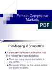 Chapter 7 Competitive Market