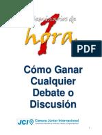 Como Ganar Cualquier Debate o Discusion