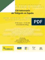 150 Aniversario del Telegrafo en España