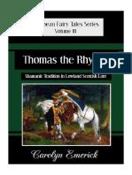 Thomas the Rhymer by Carolyn Emerick E-book-min