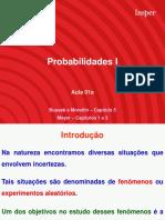 Probabilidades I