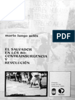 Mario Lungo Uclés-El Salvador en Los 80-Contra Insurgencia y Revolución-FLACSO-El Salvador 1990