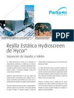 Hydro Screen tratamiento de aguas