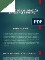Expo de Subterranea Metodo de Shrinkage Stoping