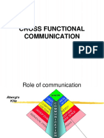 Cross Functional Communication