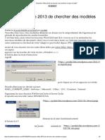Empêcher Office 2013 de Chercher Des Modèles en Ligne