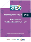 Informe de Colegio