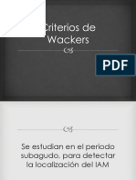 Criterios de Wackers
