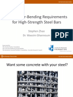 ACI.presentation.settingBar BendingRequirementsForHigh StrengthSteelBars