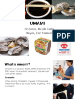 UMAMI Finalized