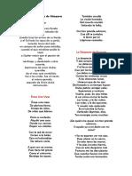 Fragmentos de Luis de Góngora