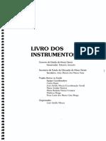 Livros de Instrumentos