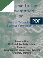 usesoftechnologyinbusinesscommunication-120124120500-phpapp02.pptx