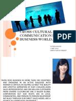 Good Cross Culture Comm