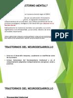 Clase Trastornos Del Neurodesarrollo
