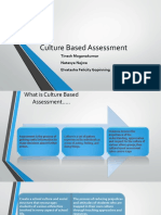 Culture Based Assessment