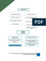 Diagrama Organizacional de Proyecto