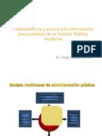 Transparencia y GP