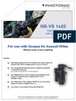 NS-Vs 1x22 Night Vision Add-On System