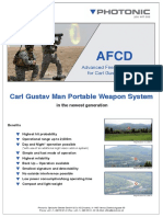 Advanced Fire Control Device for Carl Gustav Systems