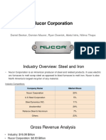 nucor project presentation