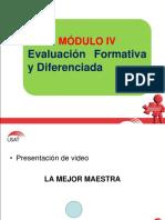 MODULO IV-EVALUACION  SESIÓN N°01