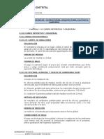 Especificaciones Campo Deportivo-graderias