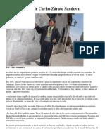 Los Pasos Altos de Carlos Zárate Sandoval