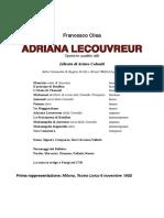 Adriana Lecouvreur libretto