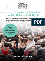 2017-06 Opdc-revised Draft Local Plan Leaflet-june2017