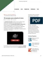 10 consejos para redactar la tesis.pdf