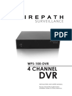 Comcast DVR Manual WPS 100 DVR 125854 En