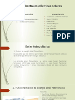 Centrales Eléctricas Solares