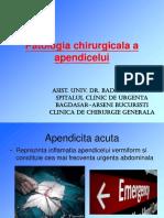 01 Curs Apendicita Acuta - Dr. Badiu