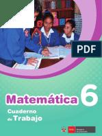 Matemática Cuaderno de Trabajo 6