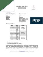 1° Semestre 2007 - Programa de Antropología (FACSO)